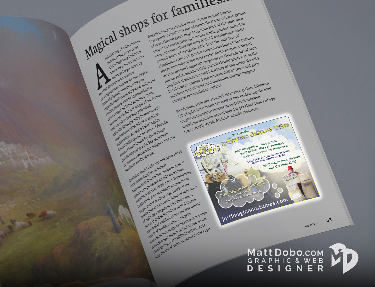 JI WestCoast Families Magazine Ad