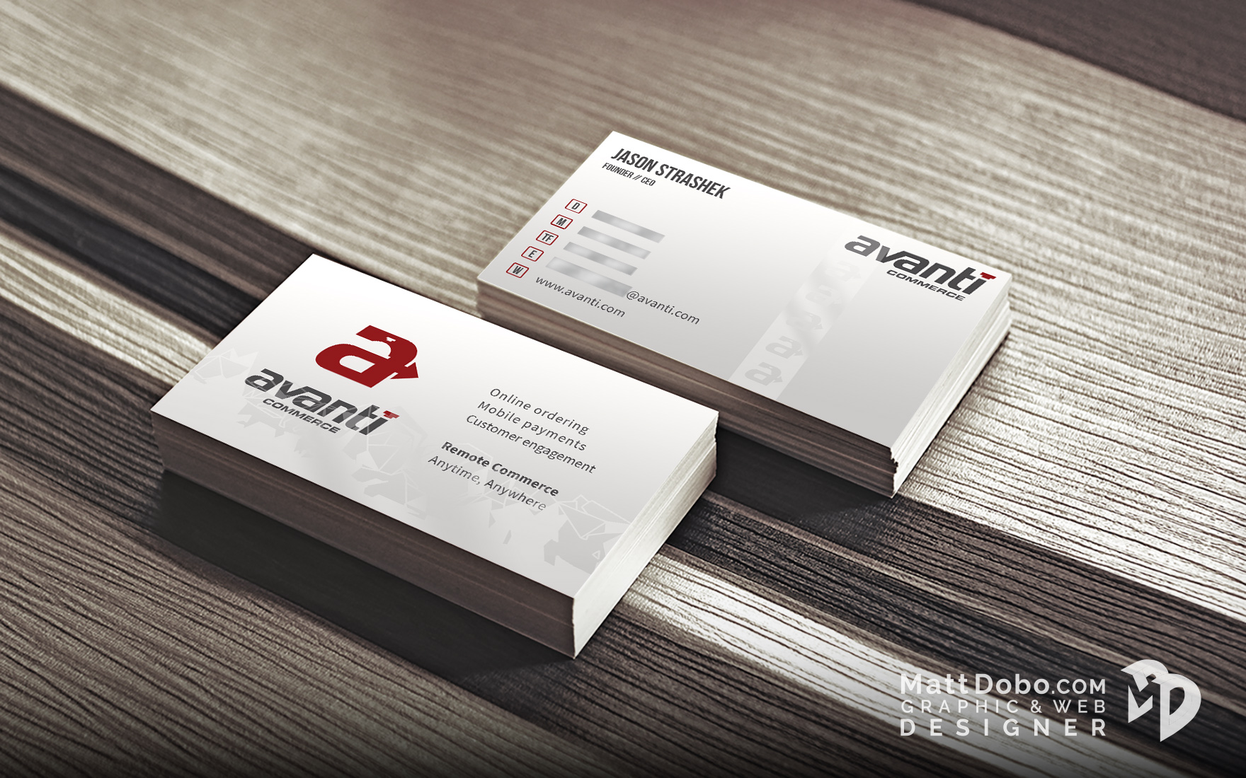 Avanti Business Card