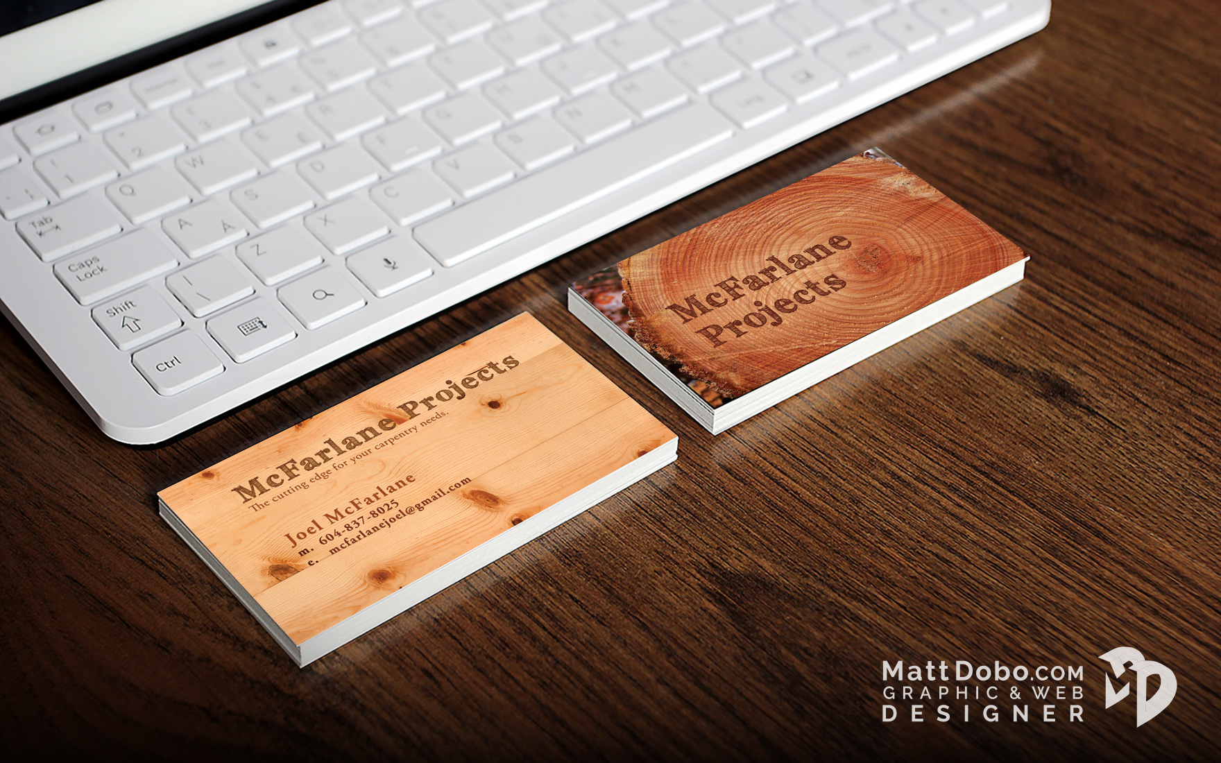 Joel McFarlane Business Card
