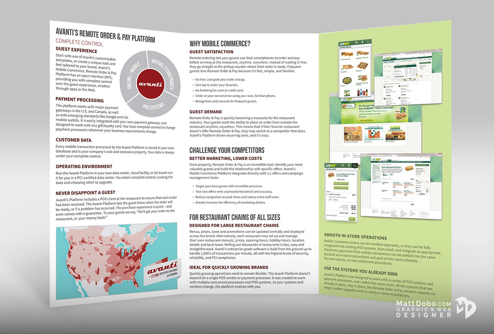 Avanti Corporate Brochure Back Side