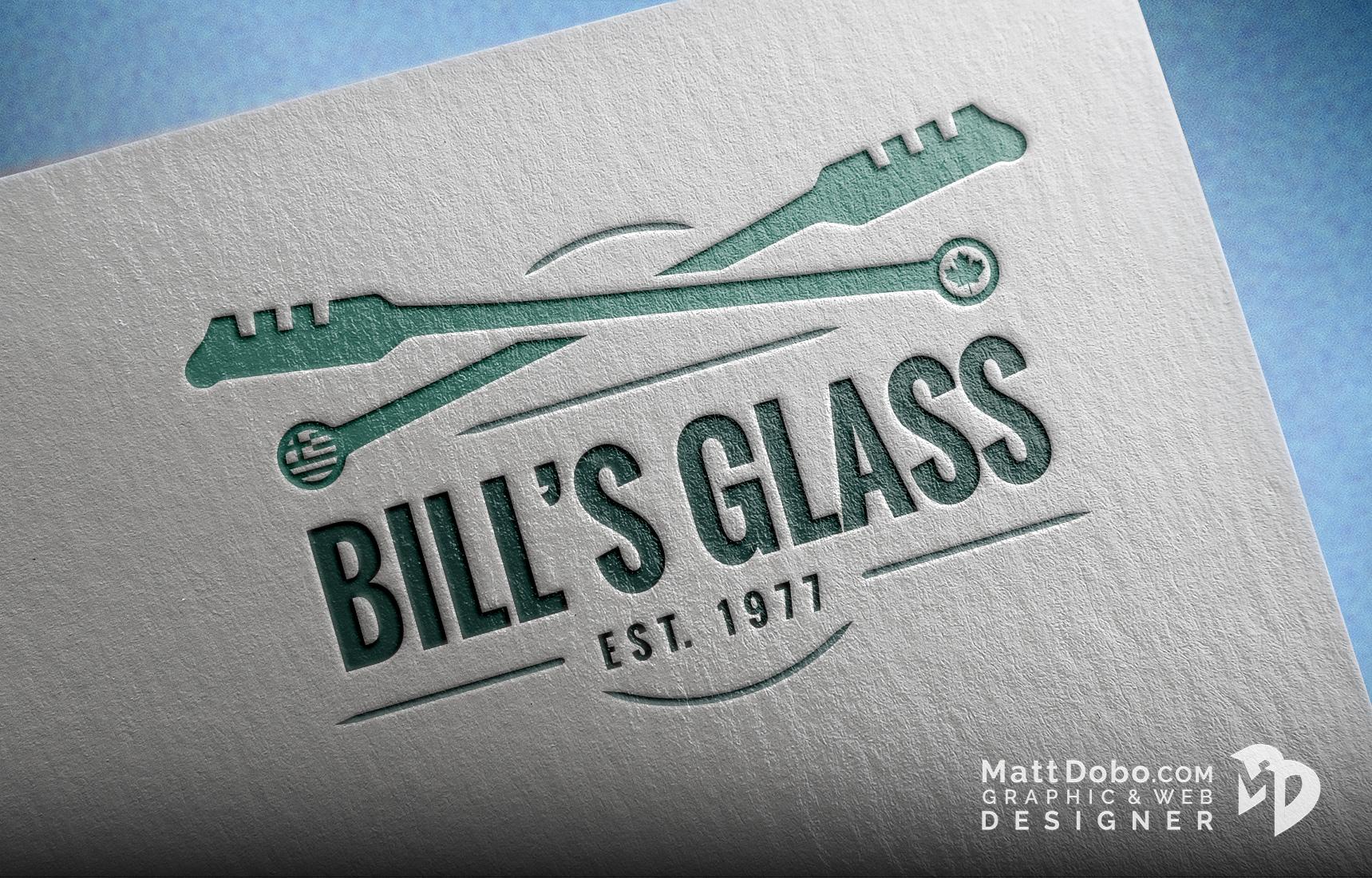 Bill's Glass Corporate Logo