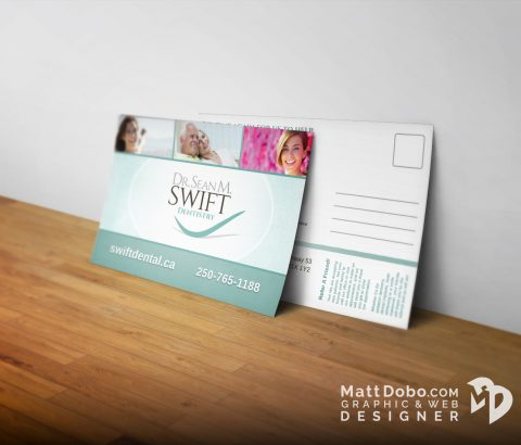 Swift Appointment Mailer Postcard
