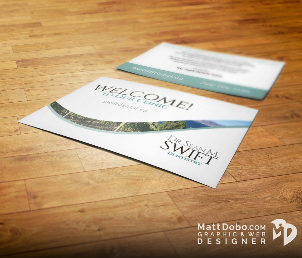 Swift Welcome New Customer Postcard