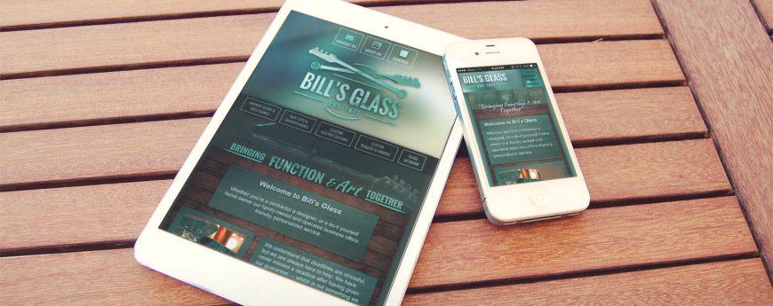 Bill's Glass Company Website